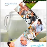 foto libro lácteos. nutrición y salud